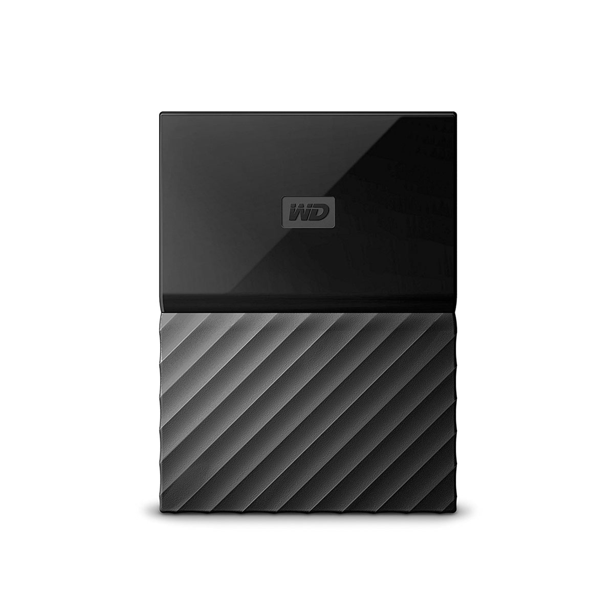 Western Digital - My Passport 2TB Auto Backup Password Protection Portable HDD - Black