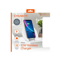 Cygnett - Prime Wireless  Desk Charger Premium Black - UK/EU