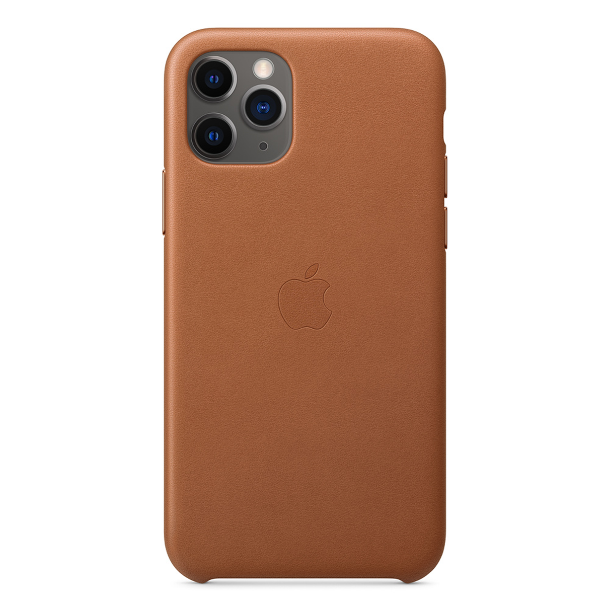 iPhone 11 Pro Leather Case Saddle Brown