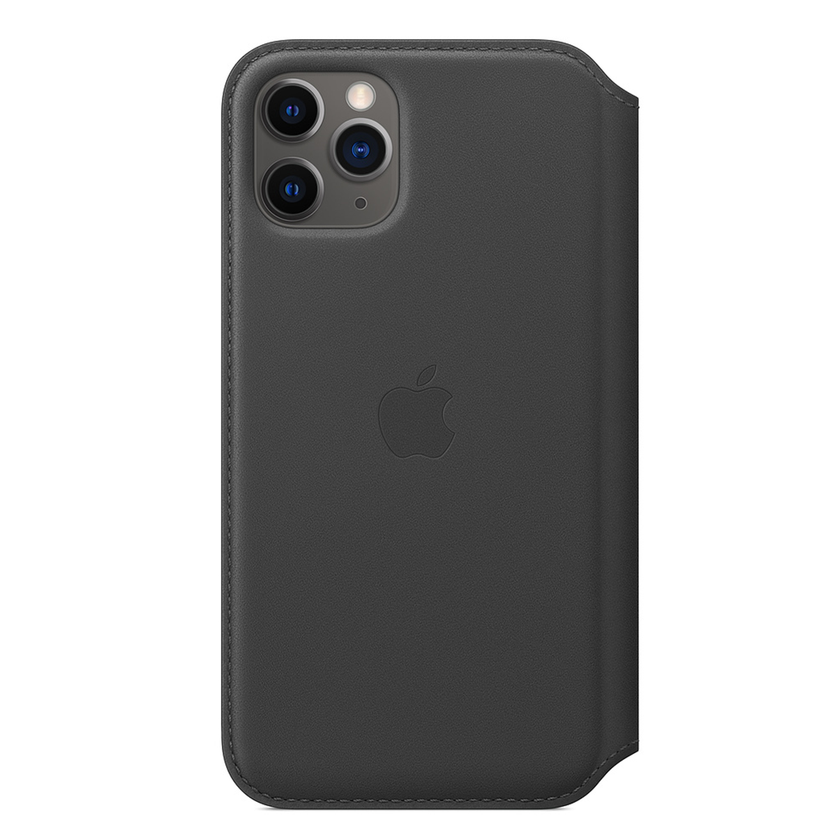 iPhone 11 Pro Leather Folio Black