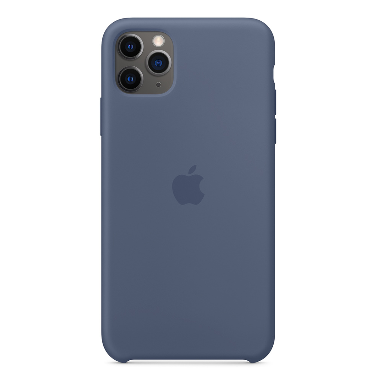 iPhone 11 Pro Max Silicone Case Alaskan Blue