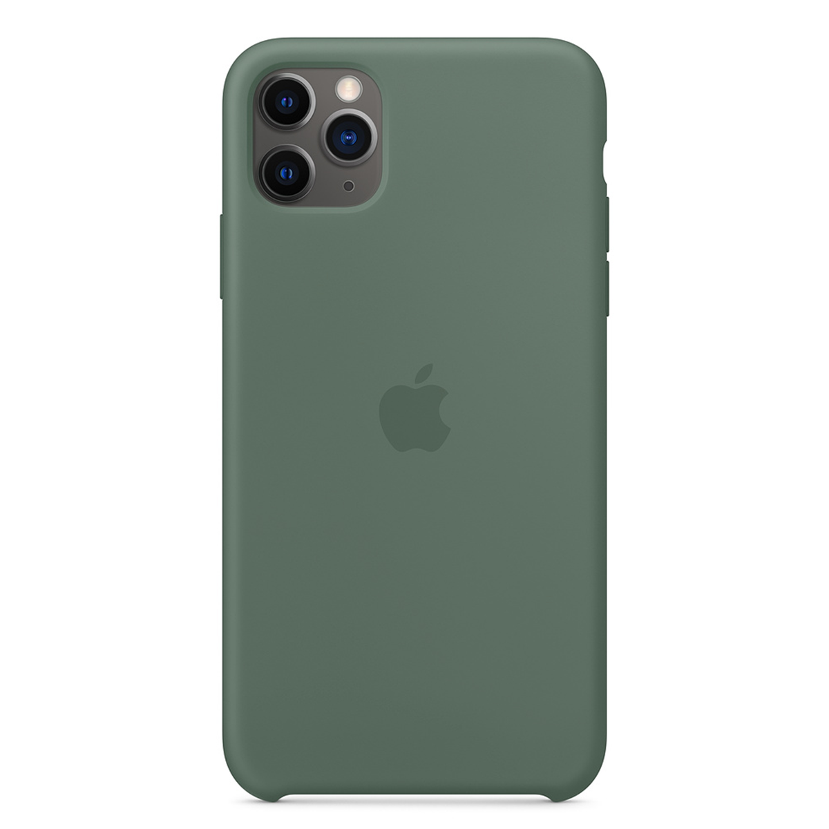 iPhone 11 Pro Max Silicone Case Pine Green