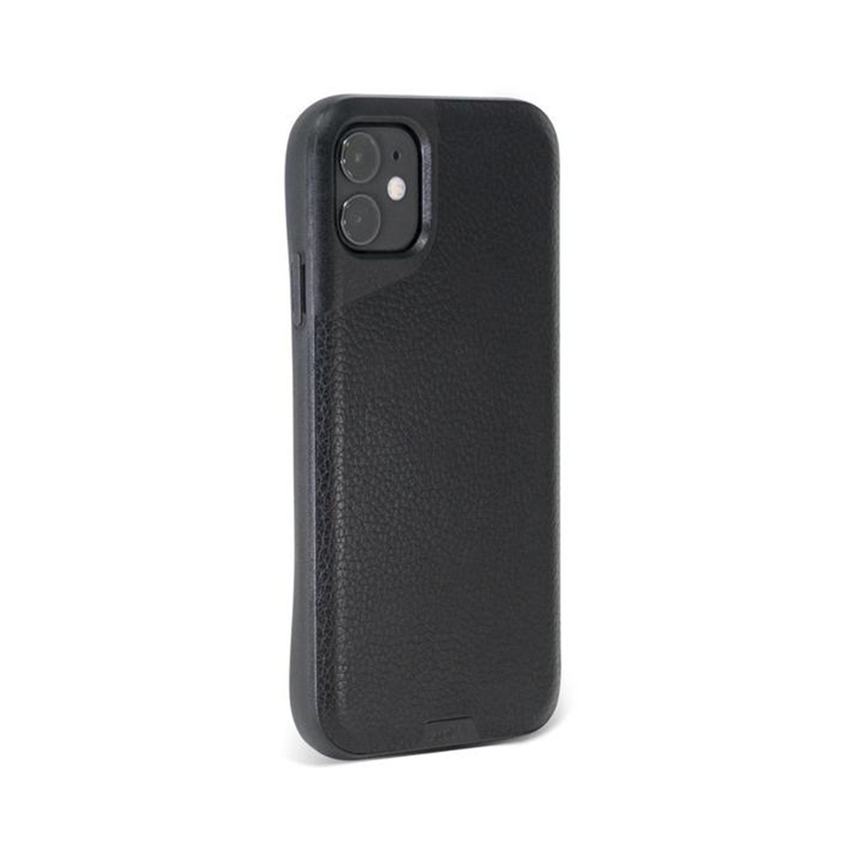 Mous - Contour Case for iPhone 11 - Black Leather