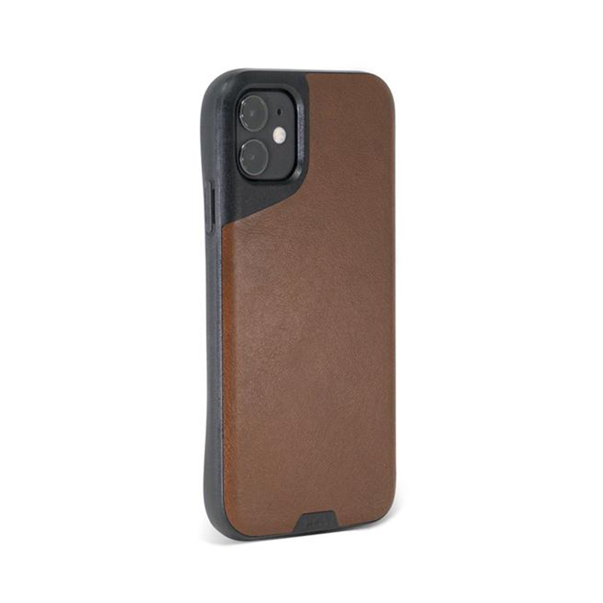Mous - Contour Case for iPhone 11 - Brown Leather