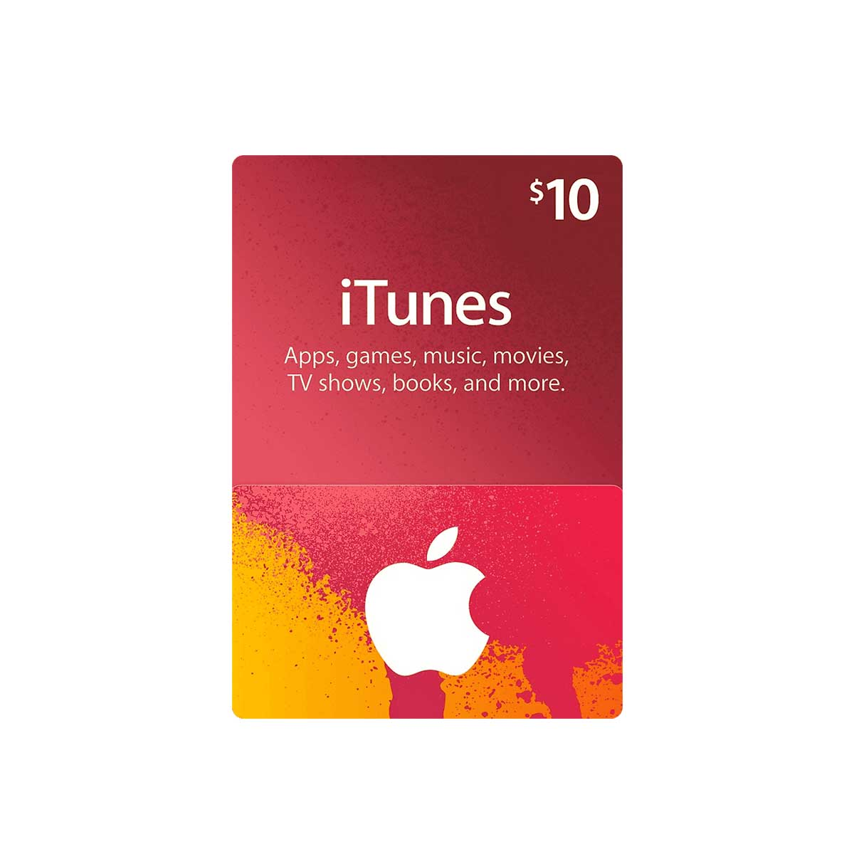 iTunes Gift Card 10USD