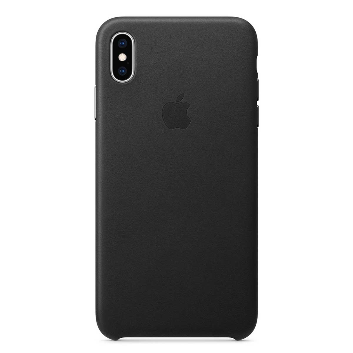 iPhone Xs Max Leather Case Black