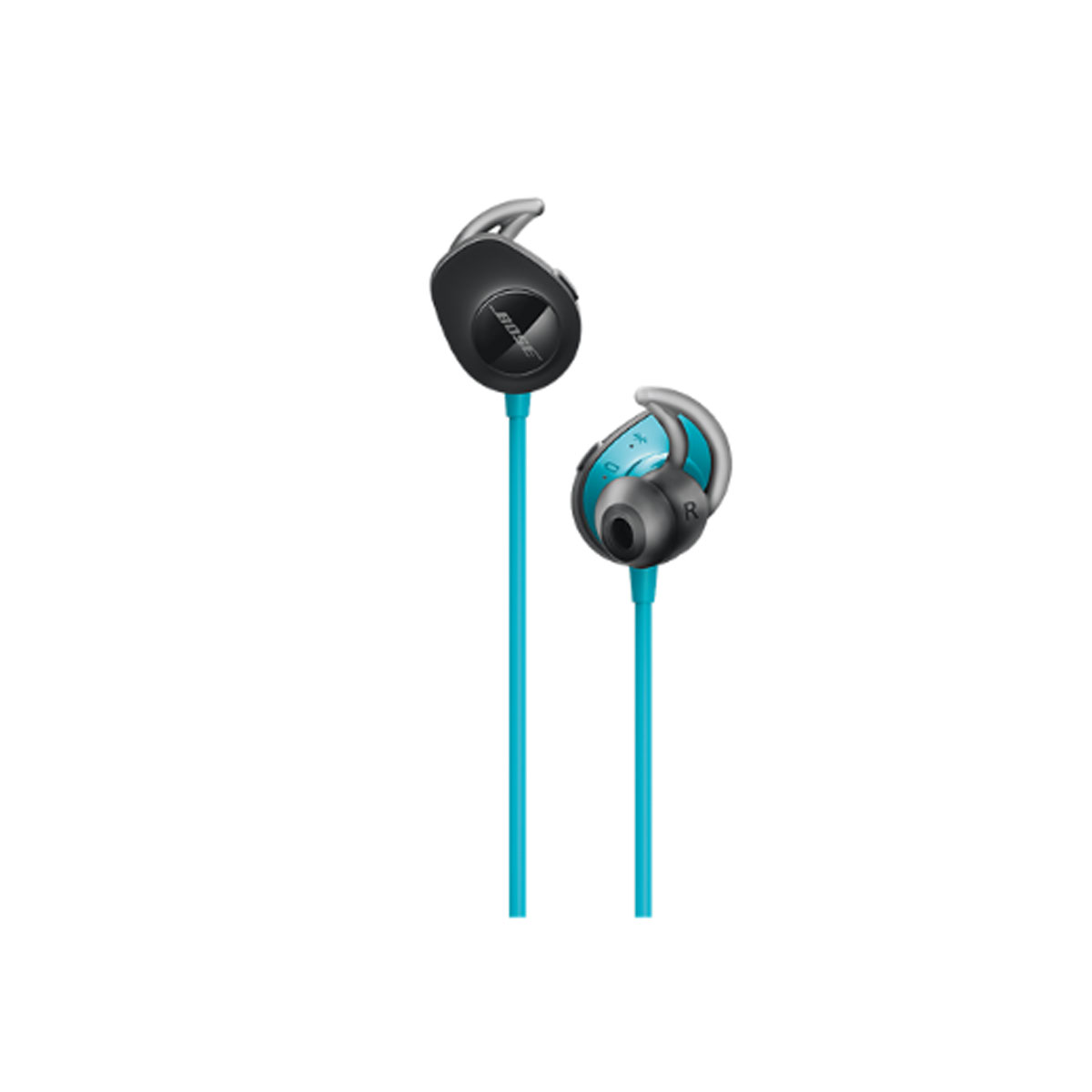 Bose - SoundSport in-ear headphones Black/Blue
