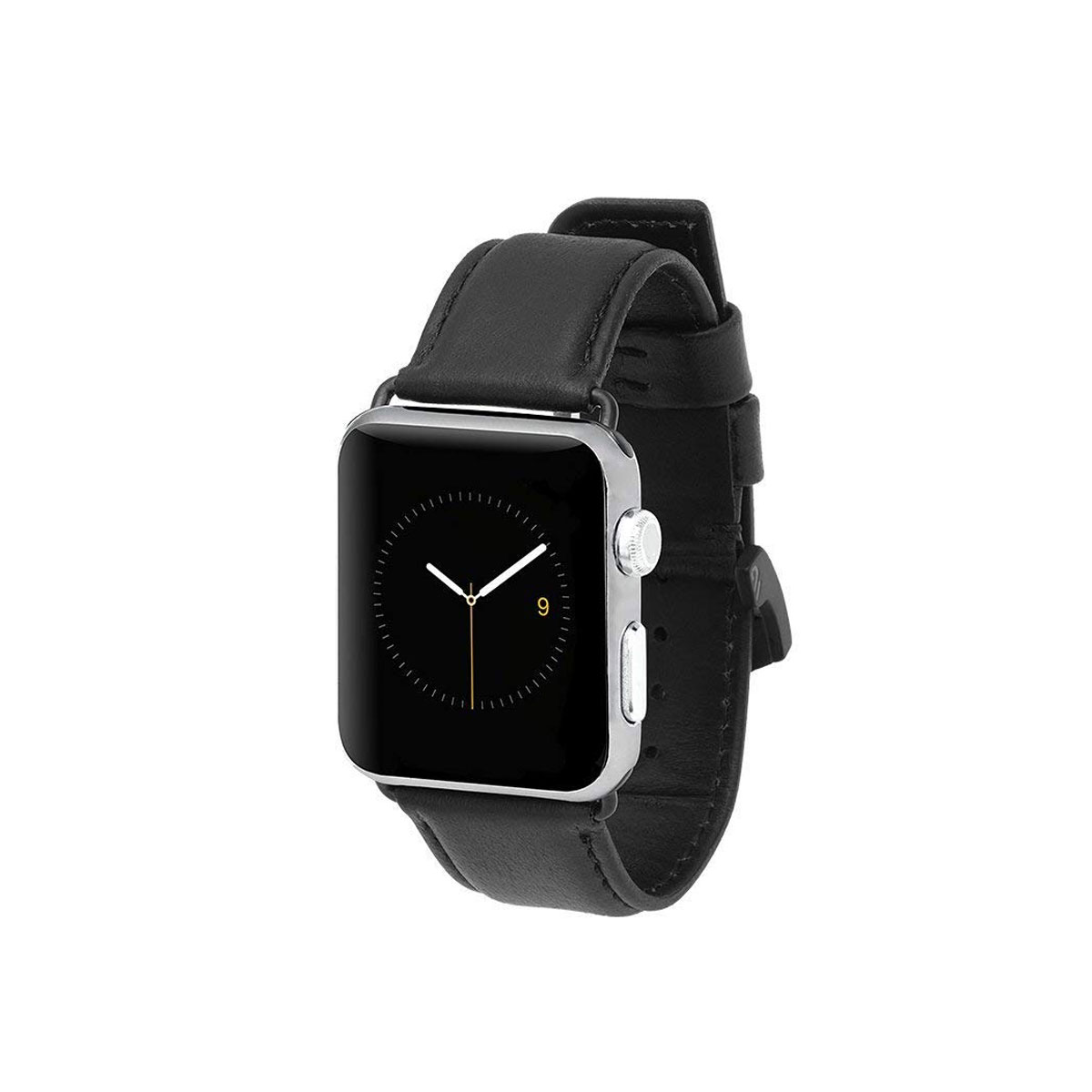 Case- Mate 42mm Apple Watchband - Leather - Black
