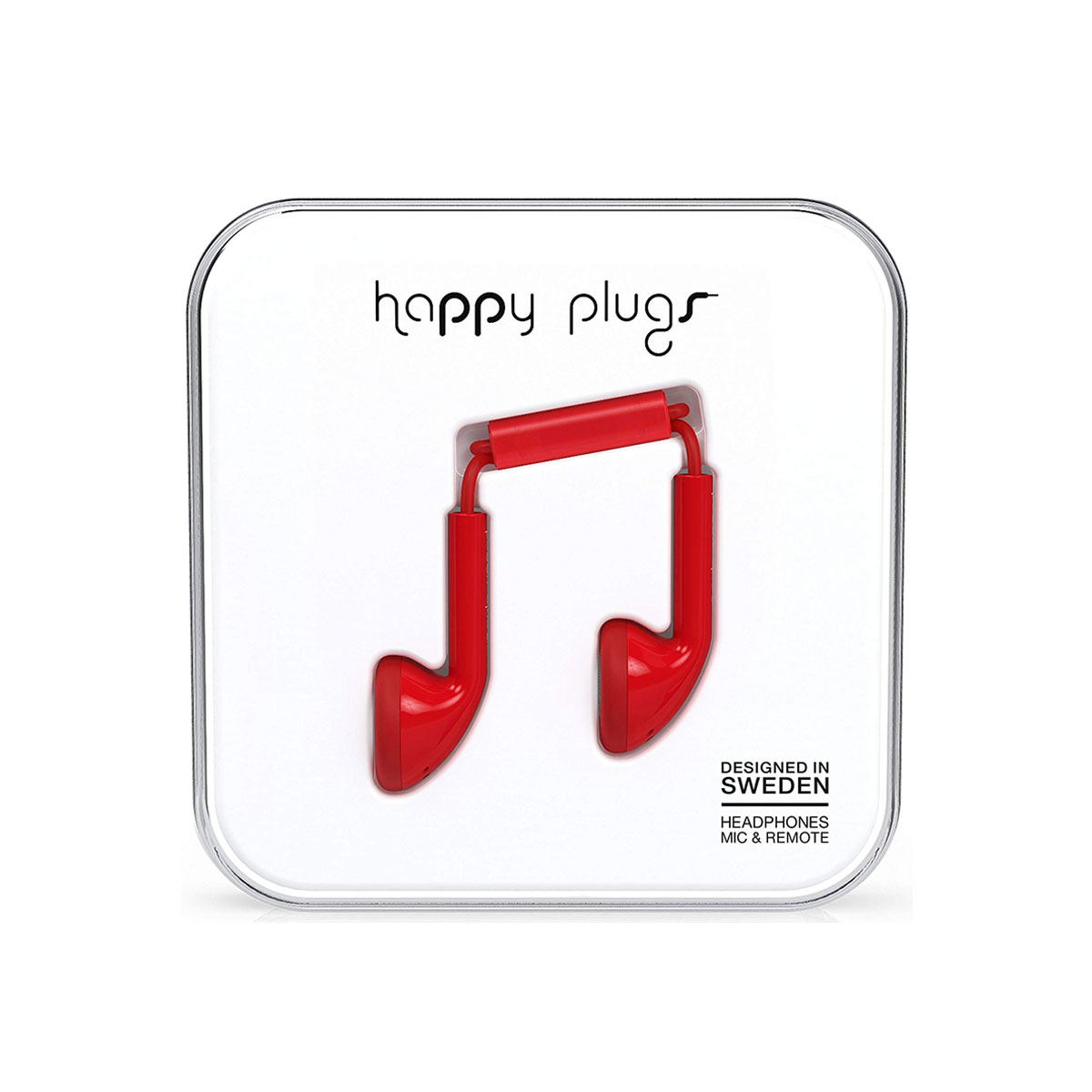 Happy Plugs Earbud - Red