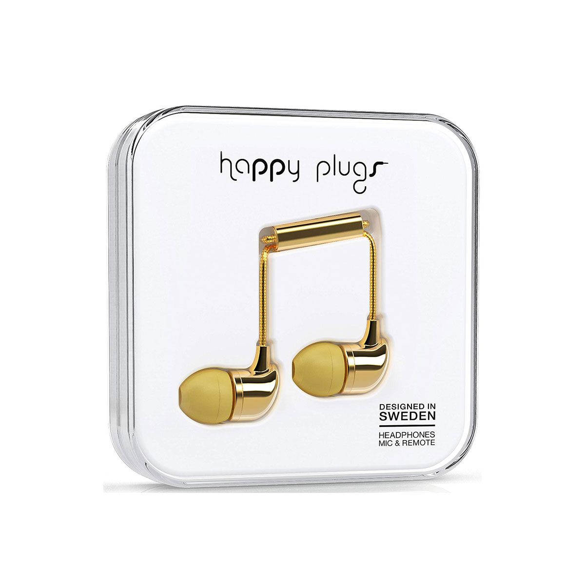 Happy Plugs In-Ear - Gold
