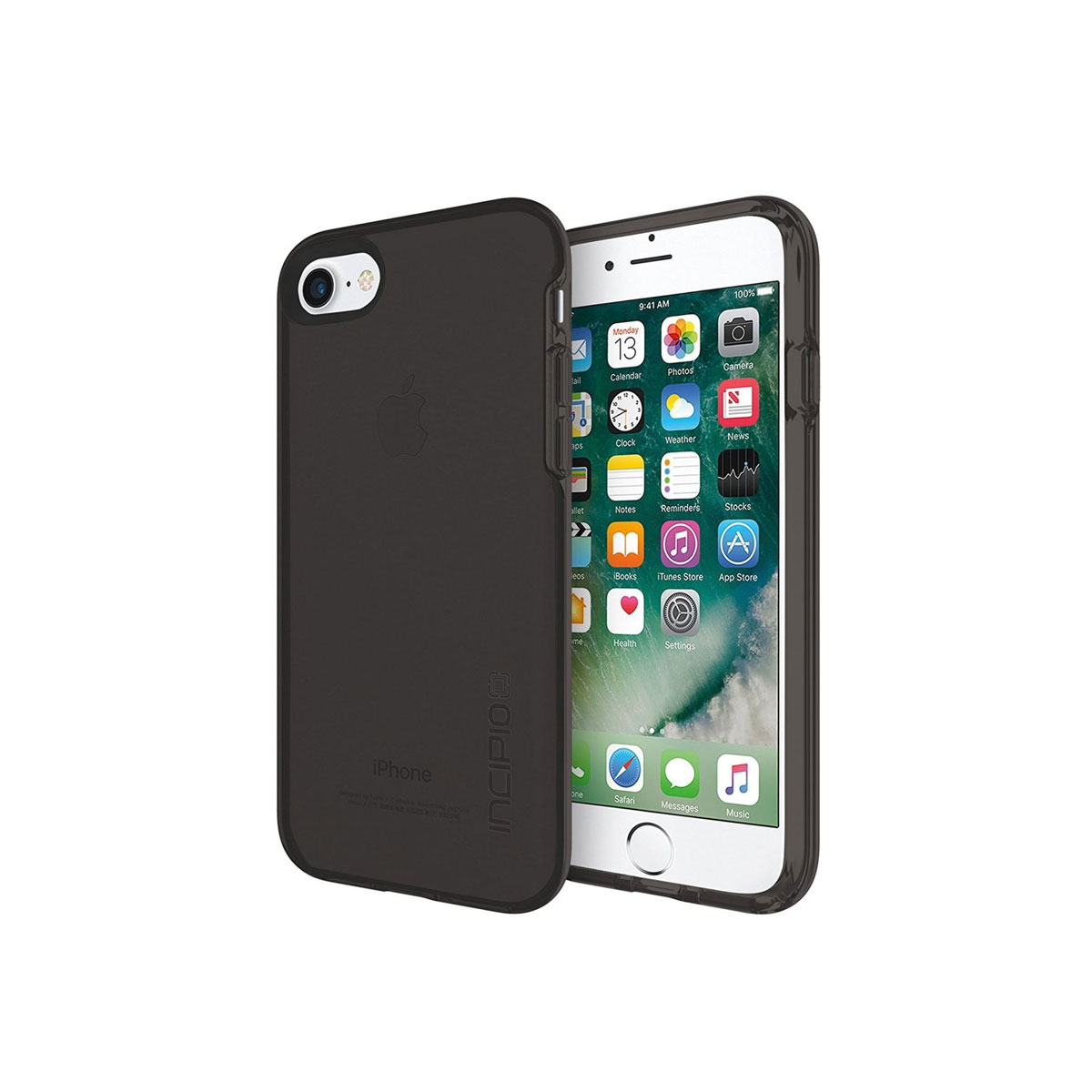 Incipio - iPhone 7 Haven Transparent Co-Molded Case - Smokey
